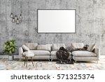 3d render of beautiful clean... | Shutterstock . vector #571325374