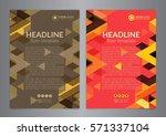 business brochure flyer design...   Shutterstock .eps vector #571337104