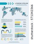 infographics elements... | Shutterstock .eps vector #571342366