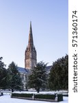 salisbury cathedral after a...