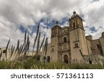 cathedral of santo domingo in...   Shutterstock . vector #571361113