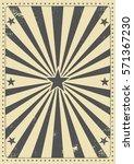vintage sunbeam background. a... | Shutterstock .eps vector #571367230