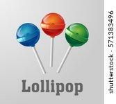Glossy Lollipop Candy
