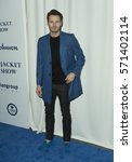 Small photo of New York, NY USA - February 1, 2017: Alex Lundqvist attends the blue jacket fashon show in support for prostate cancer awarness during New York Fashion week at Pier 59