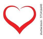 heart red | Shutterstock .eps vector #571416640