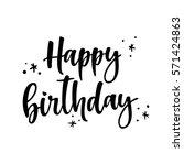 Happy Birthday Brush Script...