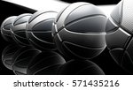 basketball background. 3d... | Shutterstock . vector #571435216