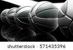 basketball background. 3d... | Shutterstock . vector #571435396