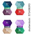 vector geometric option...   Shutterstock .eps vector #571438393