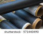 carbon fiber composite raw...   Shutterstock . vector #571440490
