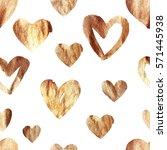 glitter seamless pattern with... | Shutterstock . vector #571445938