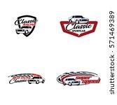 logo racing | Shutterstock .eps vector #571469389