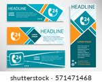 support and service   around... | Shutterstock .eps vector #571471468