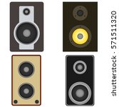 audio speakers  audio speakers... | Shutterstock .eps vector #571511320