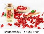 Bottle Of Pomegranate Oil....