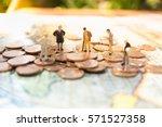 money  financial  business ...   Shutterstock . vector #571527358
