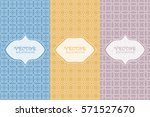 set of design templates and... | Shutterstock .eps vector #571527670