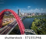 Cityscape Of Moscow With The...