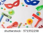 jewish carnival purim... | Shutterstock . vector #571552258
