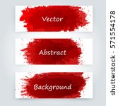 vector abstract background with ... | Shutterstock .eps vector #571554178