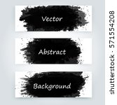 vector abstract background with ... | Shutterstock .eps vector #571554208