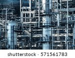 pipelines and petrochemical... | Shutterstock . vector #571561783