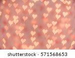 Soft Heart Bokeh Background....