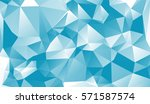 blue  green  detailed polygonal ... | Shutterstock . vector #571587574