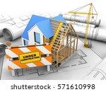 3d Illustration Of House...