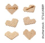 heart shape made of multiple... | Shutterstock . vector #571614889