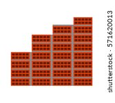bricks wall construction icon... | Shutterstock .eps vector #571620013
