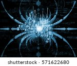 in fourth dimension series.... | Shutterstock . vector #571622680