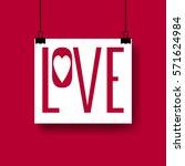 creative vector design layout... | Shutterstock .eps vector #571624984