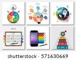 global  timeline  education ... | Shutterstock .eps vector #571630669