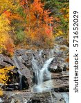 Colorful Autumn Creek  White...