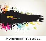 grunge banner | Shutterstock .eps vector #57165310