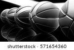 basketball background. 3d... | Shutterstock . vector #571654360