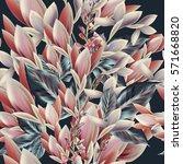 beautiful elegant vector... | Shutterstock .eps vector #571668820
