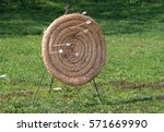 Handmade Target For Archery At...