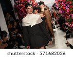 new york  ny   february 02 ... | Shutterstock . vector #571682026