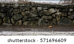 Winter Stone Wall  This Stone...
