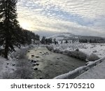View Of Truckee River   Boca...