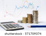 financial analysis by rows...   Shutterstock . vector #571709374