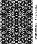 ornament with elements of black ... | Shutterstock . vector #571716268