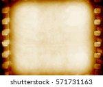 camera film frame vintage... | Shutterstock . vector #571731163