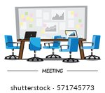 meeting room | Shutterstock .eps vector #571745773