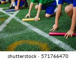 students boy prepare to leaving ... | Shutterstock . vector #571766470