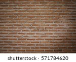pattern of old historic brick... | Shutterstock . vector #571784620