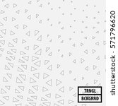 outlined triangle design... | Shutterstock .eps vector #571796620