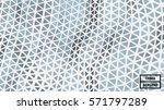 waving triangle polygon pattern ... | Shutterstock .eps vector #571797289